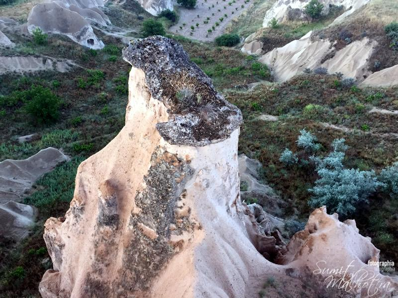 Rock Features of Goreme - Cappadocia