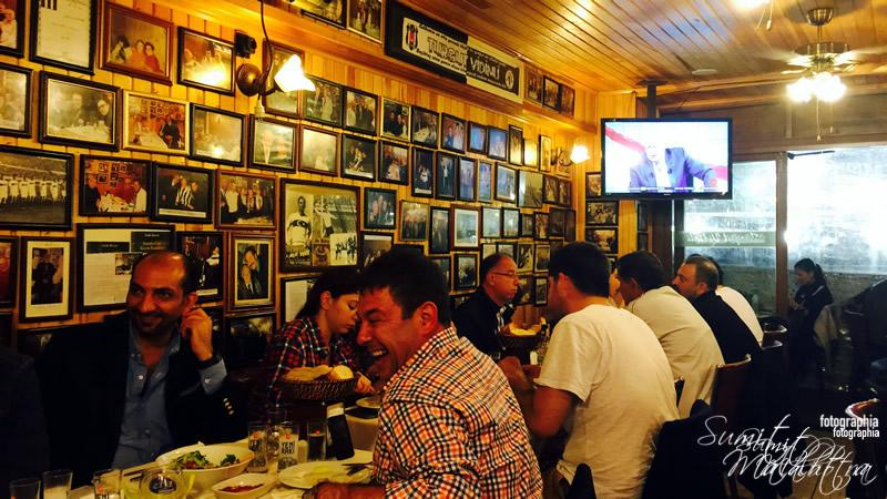 Turgut Vidinli - Fish Restaurant Interiors