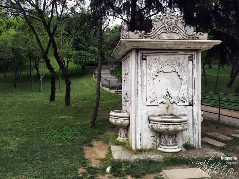 Water Fountain in Maçka Demokrasi Park