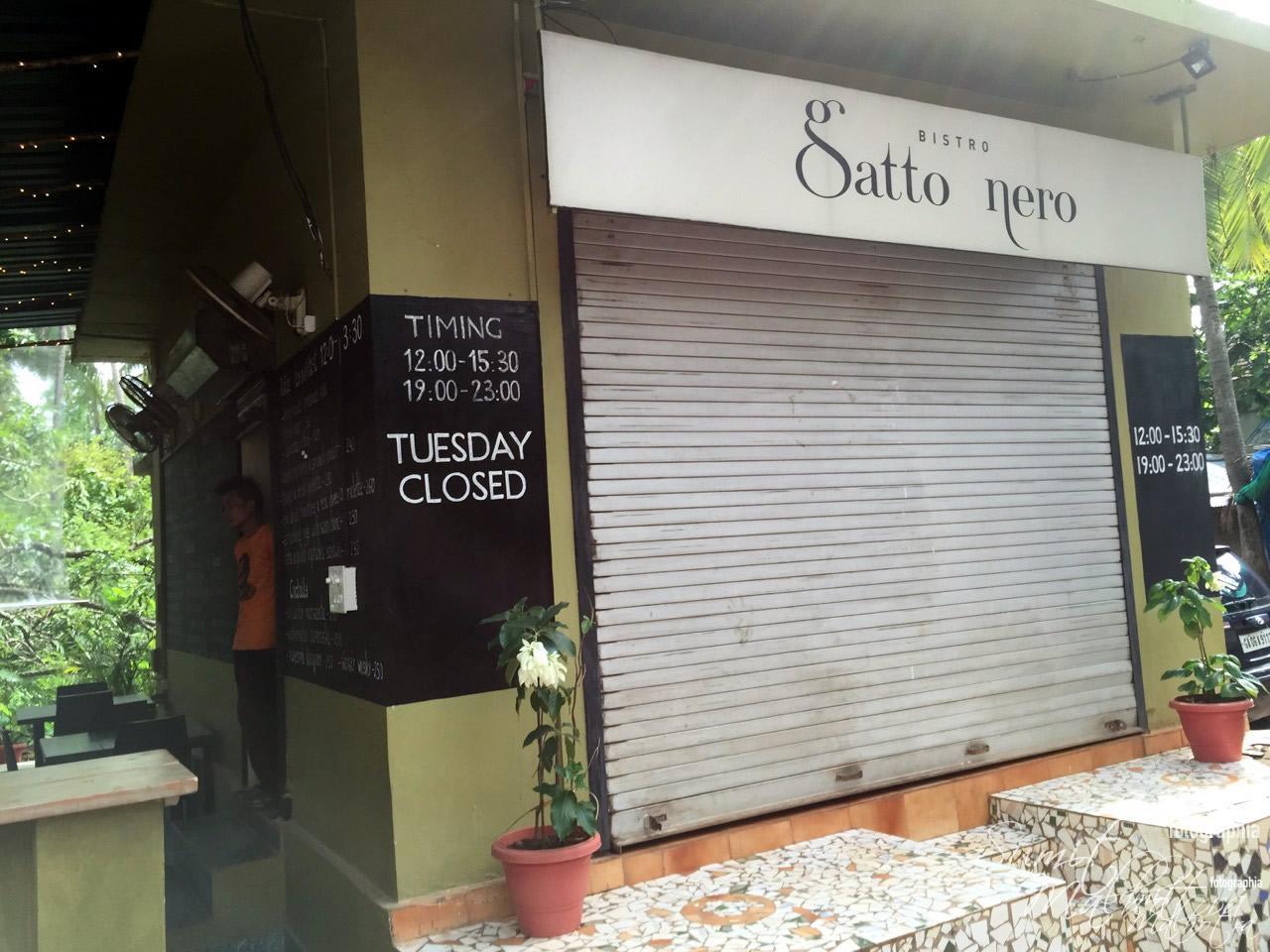Gatto Nero Restaurant Anjuna Beach Road, North Goa