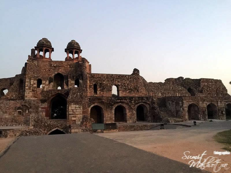 Purana Qila or Old Fort, New Delhi
