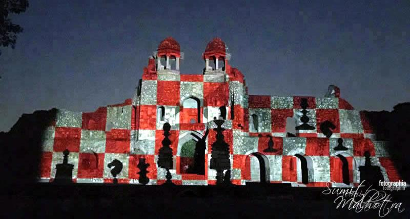 Sound and Light Show - Ishq-e-Dilli - Reliving 7 Cities of Delhi 64