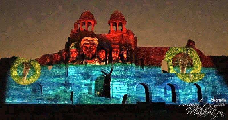 Sound and Light Show - Ishq-e-Dilli - Reliving 7 Cities of Delhi 63