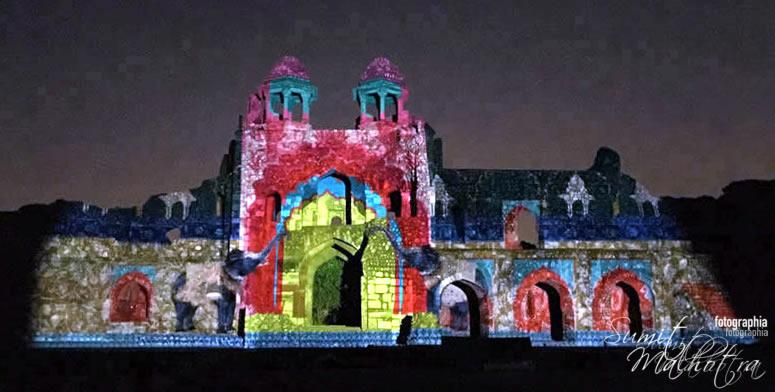 Sound and Light Show - Ishq-e-Dilli - Reliving 7 Cities of Delhi 62