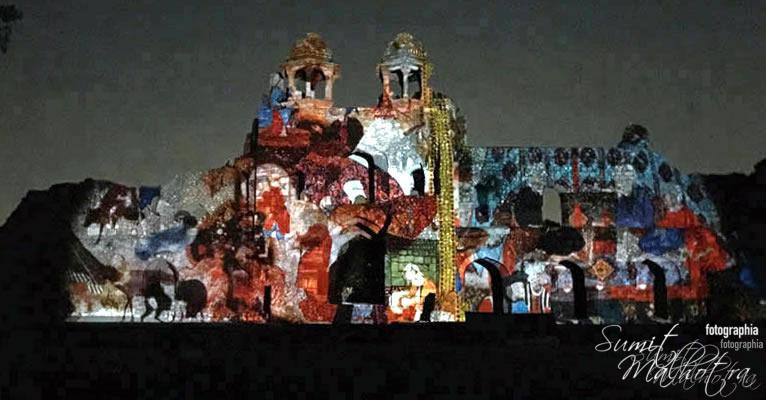 Sound and Light Show - Ishq-e-Dilli - Reliving 7 Cities of Delhi 61