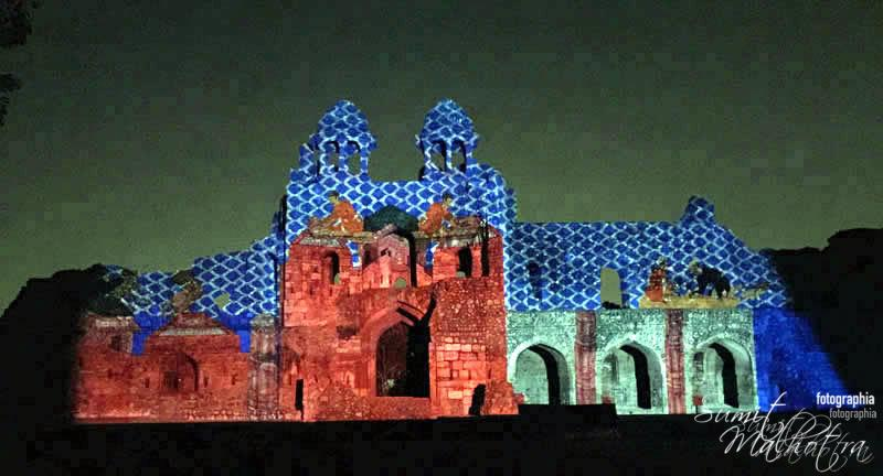Sound and Light Show - Ishq-e-Dilli - Reliving 7 Cities of Delhi 56