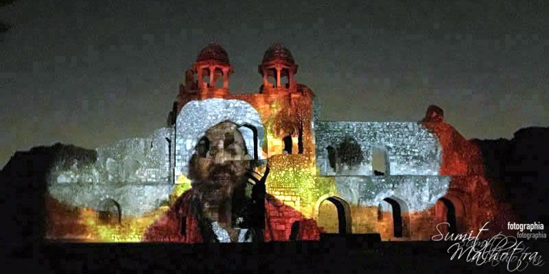 Sound and Light Show - Ishq-e-Dilli - Reliving 7 Cities of Delhi 52