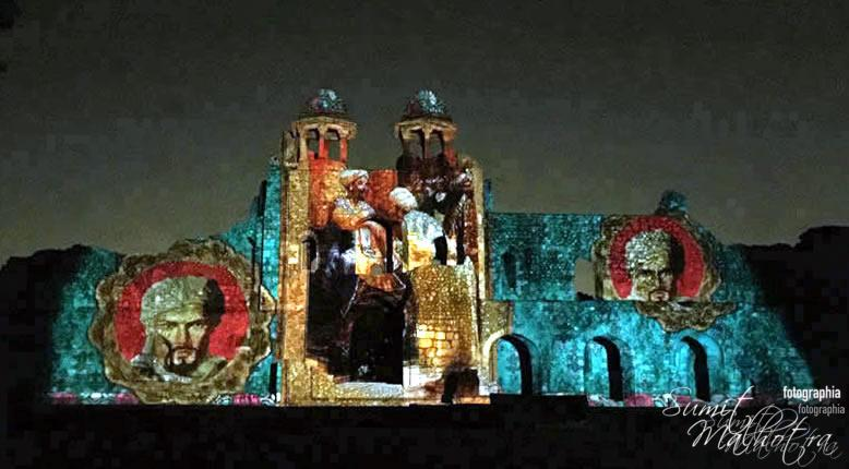 Sound and Light Show - Ishq-e-Dilli - Reliving 7 Cities of Delhi 50