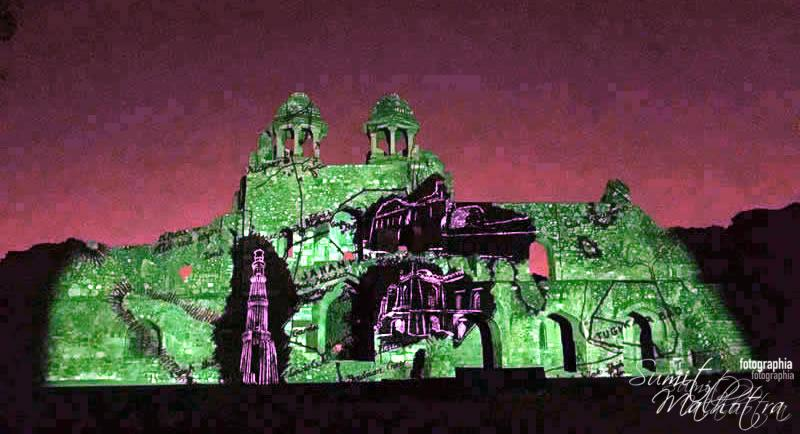 Sound and Light Show - Ishq-e-Dilli - Reliving 7 Cities of Delhi 49