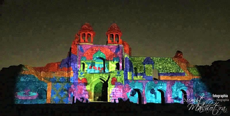 Sound and Light Show - Ishq-e-Dilli - Reliving 7 Cities of Delhi 45