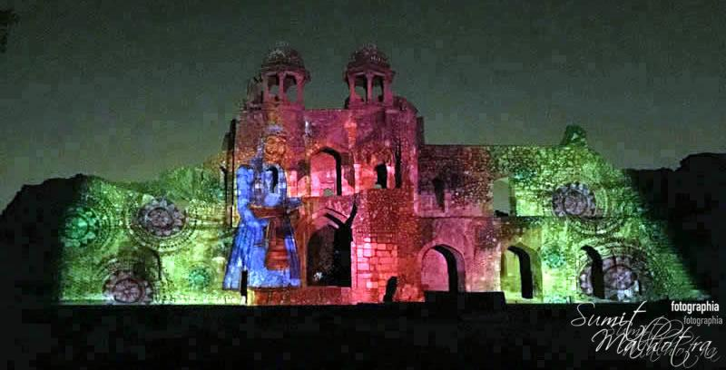 Sound and Light Show - Ishq-e-Dilli - Reliving 7 Cities of Delhi 39
