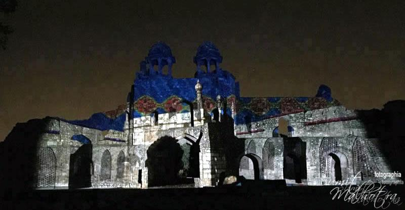 Sound and Light Show - Ishq-e-Dilli - Reliving 7 Cities of Delhi 38