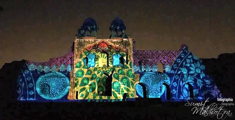 Sound and Light Show - Ishq-e-Dilli - Reliving 7 Cities of Delhi 37