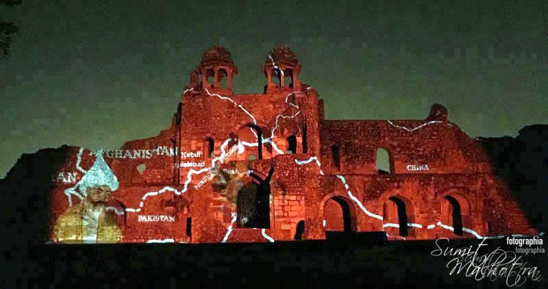 Sound and Light Show - Ishq-e-Dilli - Reliving 7 Cities of Delhi 35