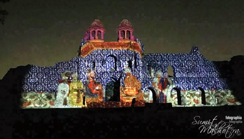 Sound and Light Show - Ishq-e-Dilli - Reliving 7 Cities of Delhi 34