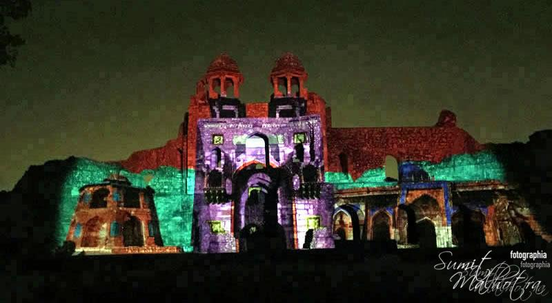 Sound and Light Show - Ishq-e-Dilli - Reliving 7 Cities of Delhi 33
