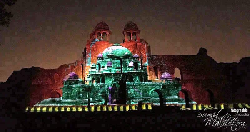 Sound and Light Show - Ishq-e-Dilli - Reliving 7 Cities of Delhi 31