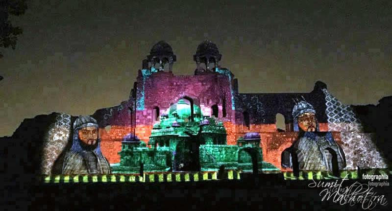 Sound and Light Show - Ishq-e-Dilli - Reliving 7 Cities of Delhi 30
