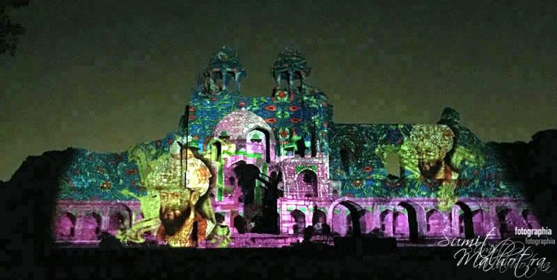 Sound and Light Show - Ishq-e-Dilli - Reliving 7 Cities of Delhi 28