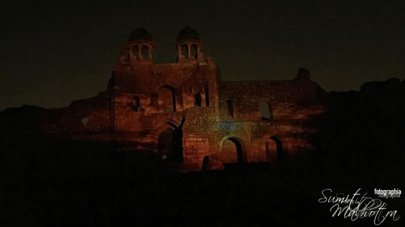 Sound and Light Show at Purana Qila