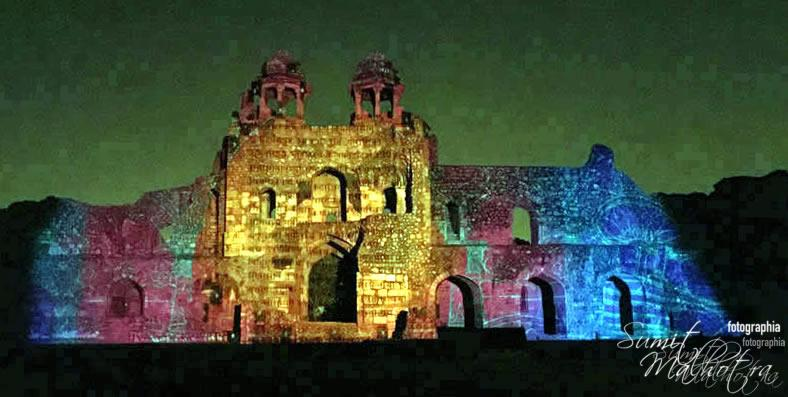 Sound and Light Show - Ishq-e-Dilli - Reliving 7 Cities of Delhi 27
