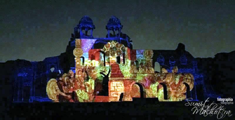 Sound and Light Show - Ishq-e-Dilli - Reliving 7 Cities of Delhi 26