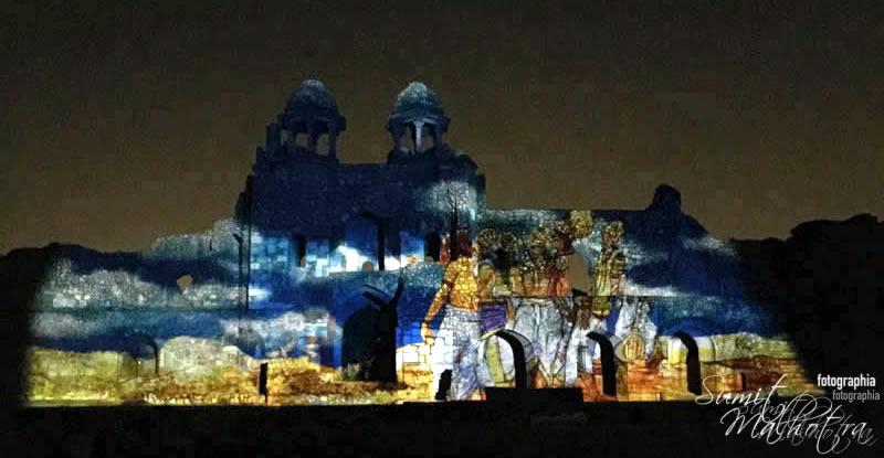Sound and Light Show - Ishq-e-Dilli - Reliving 7 Cities of Delhi 25