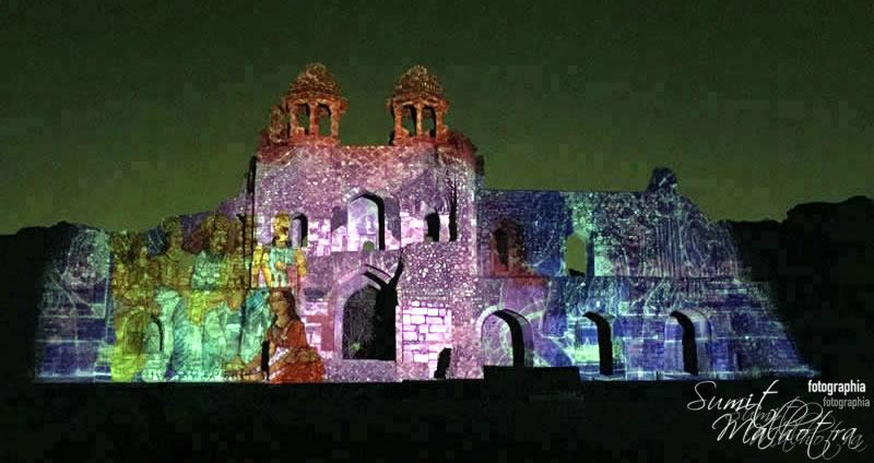 Sound and Light Show - Ishq-e-Dilli - Reliving 7 Cities of Delhi 24