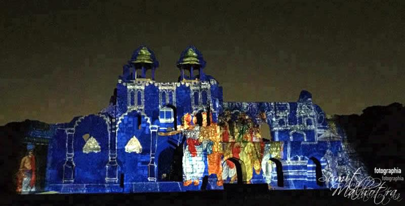 Sound and Light Show - Ishq-e-Dilli - Reliving 7 Cities of Delhi 23