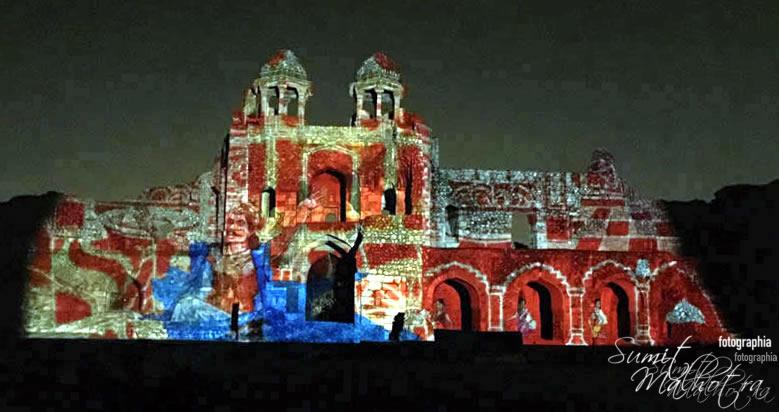 Sound and Light Show - Ishq-e-Dilli - Reliving 7 Cities of Delhi 22