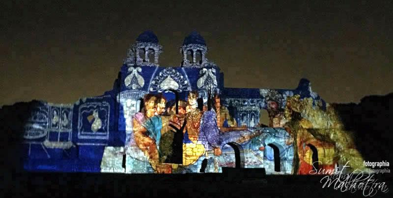 Sound and Light Show - Ishq-e-Dilli - Reliving 7 Cities of Delhi 21