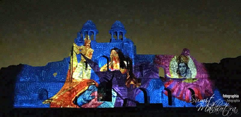 Sound and Light Show - Ishq-e-Dilli - Reliving 7 Cities of Delhi 20
