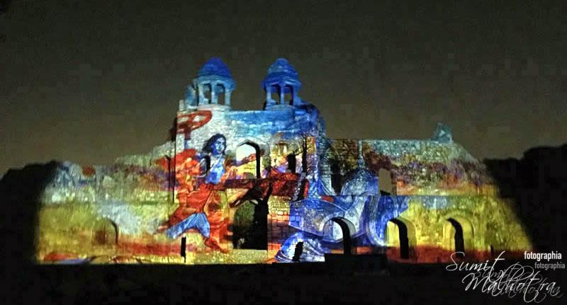 Sound and Light Show - Ishq-e-Dilli - Reliving 7 Cities of Delhi 19