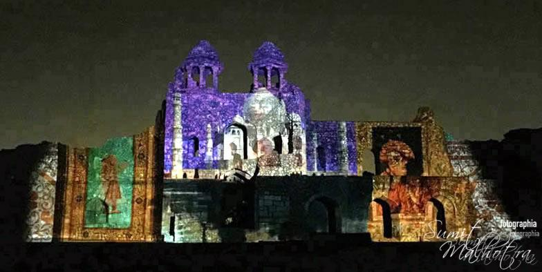 Sound and Light Show - Ishq-e-Dilli - Reliving 7 Cities of Delhi 17