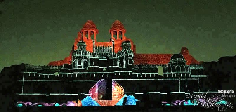 Sound and Light Show - Ishq-e-Dilli - Reliving 7 Cities of Delhi 16