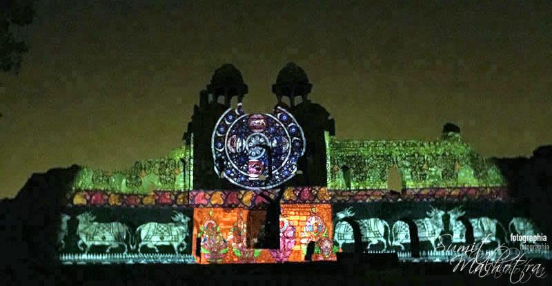 Sound and Light Show - Ishq-e-Dilli - Reliving 7 Cities of Delhi 15