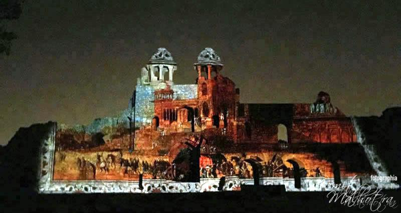 Sound and Light Show - Ishq-e-Dilli - Reliving 7 Cities of Delhi 14