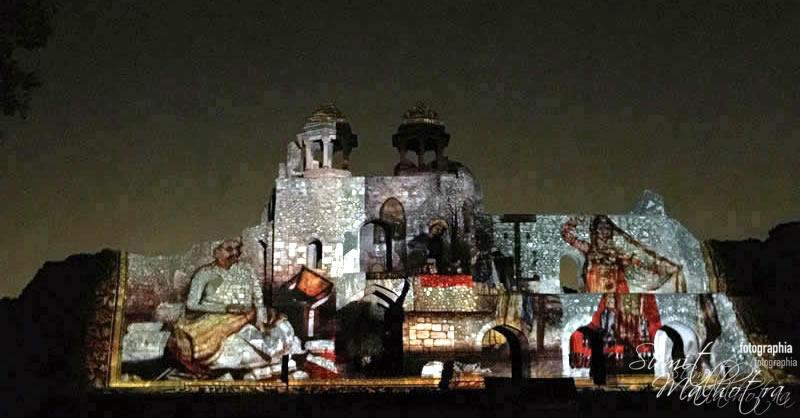 Sound and Light Show - Ishq-e-Dilli - Reliving 7 Cities of Delhi 13