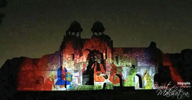Sound and Light Show - Ishq-e-Dilli - Reliving 7 Cities of Delhi 11