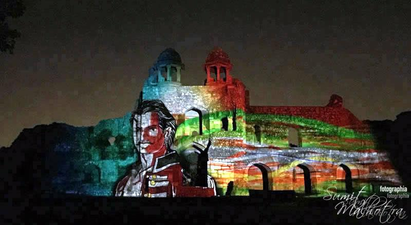 Sound and Light Show - Ishq-e-Dilli - Reliving 7 Cities of Delhi 10