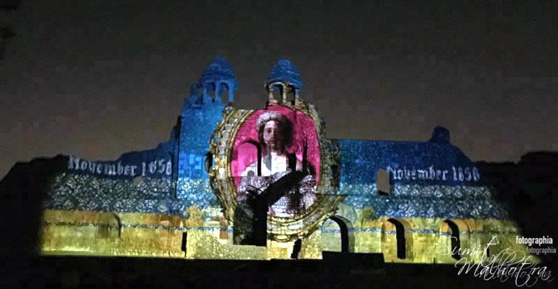 Sound and Light Show - Ishq-e-Dilli - Reliving 7 Cities of Delhi 8