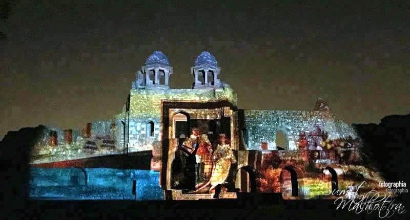 Sound and Light Show - Ishq-e-Dilli - Reliving 7 Cities of Delhi 7