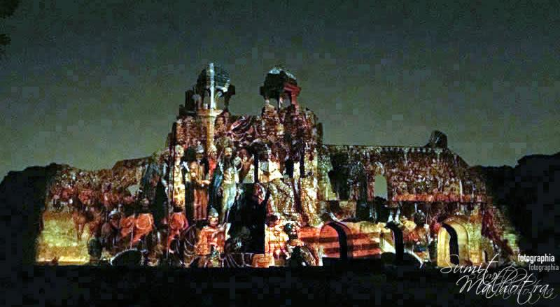 Sound and Light Show - Ishq-e-Dilli - Reliving 7 Cities of Delhi 6