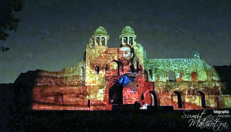Sound and Light Show - Ishq-e-Dilli - Reliving 7 Cities of Delhi 4