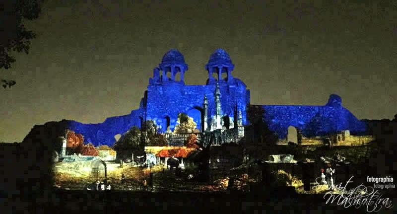 Sound and Light Show - Ishq-e-Dilli - Reliving 7 Cities of Delhi 3