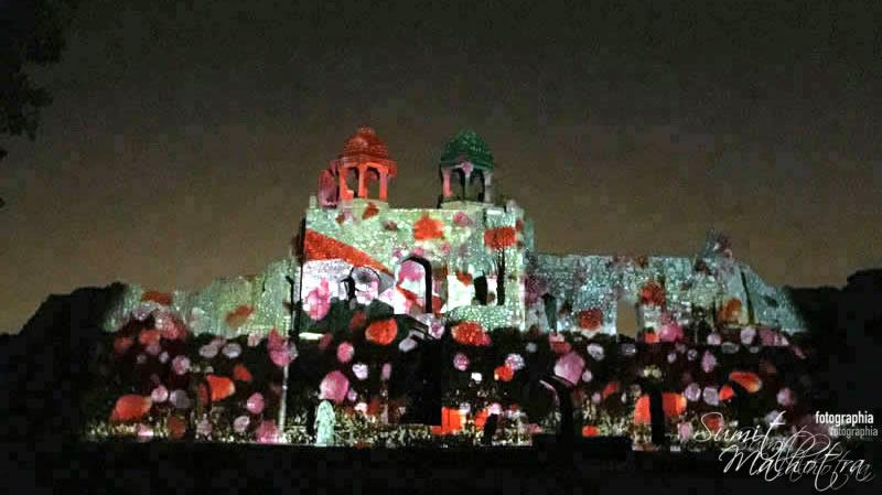 Sound and Light Show - Ishq-e-Dilli - Reliving 7 Cities of Delhi 2