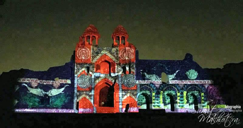 Sound and Light Show - Ishq-e-Dilli - Reliving 7 Cities of Delhi 1