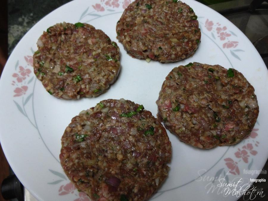 Take Mutton Burger Patties