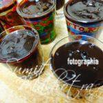 Ladle the Chocoffee Ganache with Maggi Atta Noodles in shot glasses
