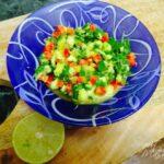 Mix well & serve spicy fresh mango salsa. Mango salsa recipe